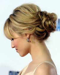Different Bun Hairstyles Romantic Loose Low Bun Updo For Wedding From Dianna Agron