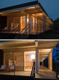 lighting a house. 17 Inspiring Examples Where Exterior Uplighting Has Been Used To Show Off A House // Lighting U