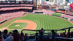 St Louis Cardinals Stadium Seating Chart Busch Stadium Section 441 Row 9 Seat 24 Home Of St
