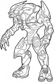 Small Picture Ghost From Halo Coloring Coloring Pages