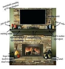 fireplace mantel height with tv above above fireplace on fireplace mantel dumound decorating a with above it peach blossom style home fireplace mantel