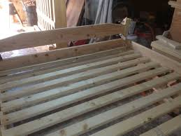 Build your own King Size Bed Frame for less than $90 - Ben Hanna