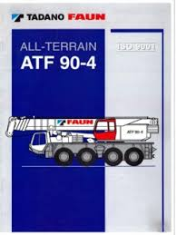 All Terrain Cranes Tadano Faun Specifications Cranemarket