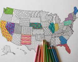 Small Picture USA Travel Map Poster US Map to Color In Us Travel Map