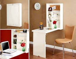 space saving home office. fold down tiny office space saving home