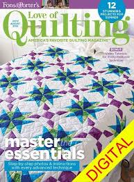 216 best Books & Magazines images on Pinterest | Weaving, Baby ... & Love of Quilting July August 2016 Digital Issue DPLQ160800 Adamdwight.com