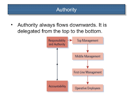 Delegation Of Authority Chart Authority Flows From Who Knows