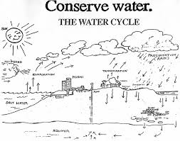 Water Cycle Coloring Page Design Kids Design Kids