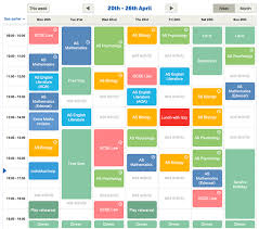 Timetable Creator Time Table Maker Magdalene Project Org