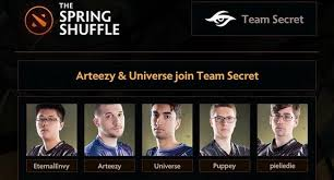 dota 2 news team secret and evil geniuses roster changes gosugamers