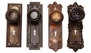 Vintage Door Hardware Gallery Antique Style Knob And Back Inside