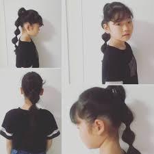 子供のヘアアレンジ Instagram Posts Gramhanet