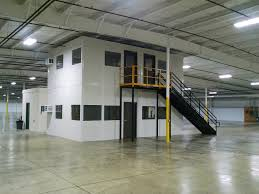 warehouse mezzanine modular office. PTC Industrial Is Your Source For Panel Built Modular Offices With Complete Installation Services. Contact Us Today More Information. Warehouse Mezzanine Office