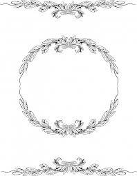 vintage frame design png. Free Vintage Laurel Round Frame And Borders JPEG PNG ~ Oh So Nifty Graphics Design Png