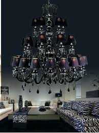 chandeliers chandelier under 100 black crystal chandelier material painted alloy glass arms deluxe crystals fabric