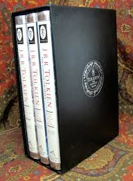 001369 the lord of the rings 1992 us three volume set with custom slipcase 225 00