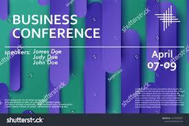 Seminar Design Template Conference Announcement Seminar Design Template Violet Stock