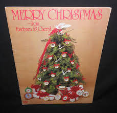 Christmas Cross Stitch Charts Details About Barbara Cheryl Merry Christmas Cross Stitch Chart Leaflet Book 2 Mini Ornament