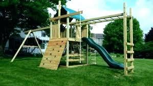 diy playset kits wonderful outdoor plans free wood wooden swing set diy swing set accessories ireland