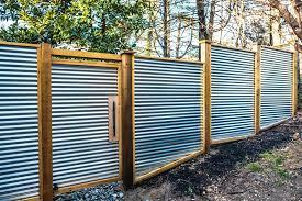 corrugated steel fence corrugated metal privacy fence design corrugated steel fence design corrugated steel fence