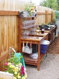 Potting Bench Plans Montana Wildlife Gardener Repurposed Potting Bench Garden