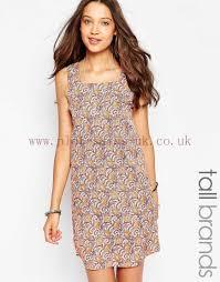 tall women s new look peacoat printed tunic dress dress larger image
