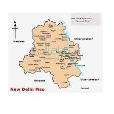 Delhi Political Chart India Delhi Political Chart