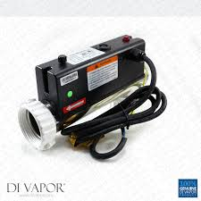 lx h15 r2 water heater 1500w 1 5kw l shape hot tub spa whirlpool bath flow type heater 2