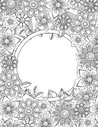Back To School Binder Cover Adult Coloring Pages 5 Quinta Pagine