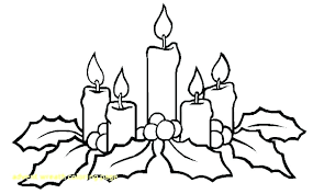 Advent Wreath Coloring Pages Kinkenshopinfo
