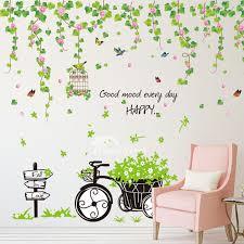 home decor wall stickers pvc self