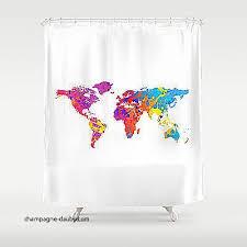 cool shower curtains for teens. shower curtains for teens beautiful bathroom decor custom curtain world map fun cool r
