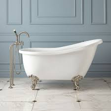 cozy small clawfoot bathtubs as a 54 small scale clawfoot tub for real and it