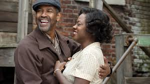 fences review denzel washington and viola davis are powerful  fences