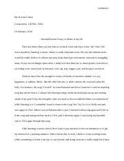 engl composition i central texas college page  3 pages exemplification essay assignment engl1301 composition i