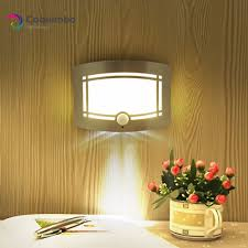 Us 11 99 31 Off 0 7w Led Acrylc Wall Lamp Battery Operated Warm White Lighting Wall Light Fixtures Luminaire Lustre For Bedroom Living Room In Led
