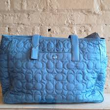 33% off Coach Other - Coach quilted diaper bag from Tulle's closet ... & Coach quilted diaper bag Adamdwight.com