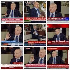 Türkiye'den 'medya' manzaraları: Erdoğan'ın gençlerle söyleşisi televizyon  kanallarını kapladı - Gerçek Gündem