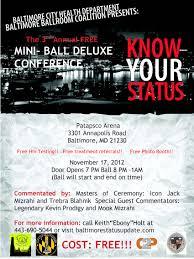 Know Your Status Ball @ Patapsco Arena 11.17.2012 | Whats The T Bmore