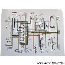 porsche 356b wiring diagram great engine wiring diagram schematic • full color wiring diagram porsche 356 pre a coupe 54 55 rh com engine