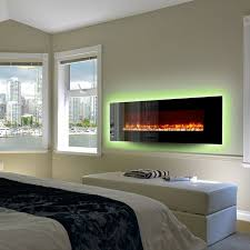 backlit led would be really easy dynasty contemporary electric fireplace led wall mount 78