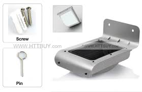 LED Solar Power Wireless Security Motion Sensor Light Outside Solar Powered Outdoor Security Light Motion Detection