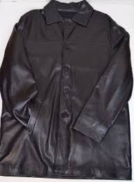 details about italian leather jacket 44 tall long car coat massimo vera pelle made in italy xl