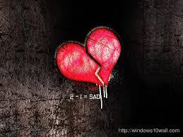 sad heart wallpapers sad heart wallpaper free windows 10 wallpapers