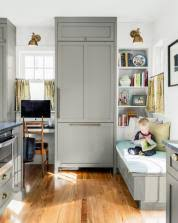 Kitchen office nook Build In Office Kitchen Design Idea The Ultimate Home Office Nook This Old House Kitchen Design Idea The Ultimate Home Office Nook This Old House