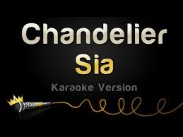 sia chandelier karaoke version