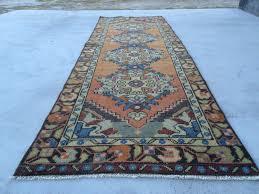 turkish rug pink rug oushak rug anatolian rug runner rug old rug vintage rug 9