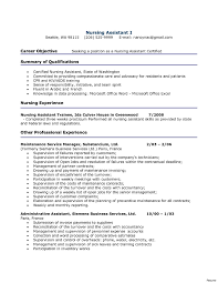 Nursing Assistant Job Description Cna Duties Resume 24 Resumes Sample Hospital Nursing Assistant Job 12