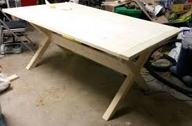 I also have to consider the weight of the table top as. Dining Table Construction Plywood General Woodworking Talk Wood Talk Online