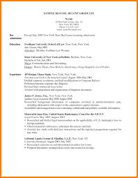 Recent Graduate Resume 100 Recent Graduate Resume Template Format Of Notice 19